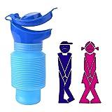 AIBAOBAO Bottiglia per l'urina, Bottiglia per l'urina da 750ML, riutilizzabile per l'urina d'emergenza a prova di perdita per campeggio, viaggi in auto, ingorghi e code