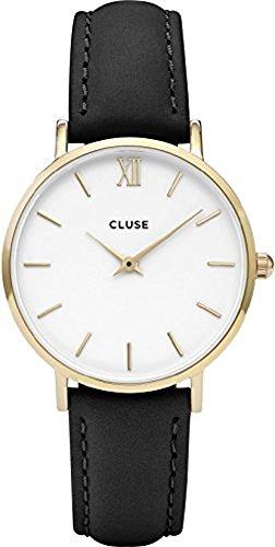 Cluse Damen Armbanduhr Analog Quarz Leder CL30019