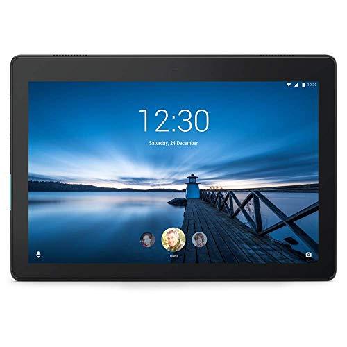 Lenovo Tab E10 Tablet - 10.1 inches HD Display, Android Oreo OS, Qualcomm Quad-Core Processor –Black (Renewed)