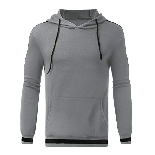 ღJiaMeng Herren Mode und Freizeit Kapuzenpullover Herbst Winter Warm Halten Sweatshirt Langarm Lose Hoodies Top Bluse