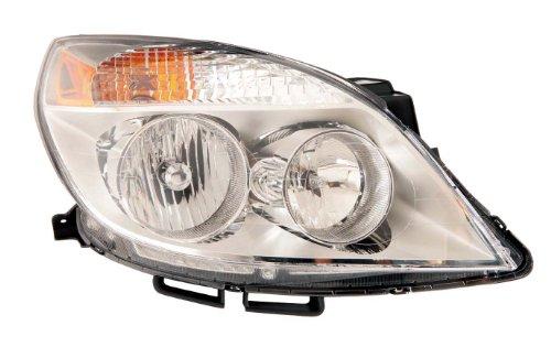 Depo 335-1149R-ASN Saturn Aura Scheinwerfer mit Leuchtmittel und Sockel für Beifahrerseite