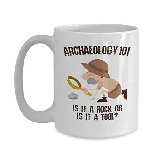 Eastlif Regalo de arqueología | Regalo de arqueología | Estudiante de Arqueología | Taza de la arqueología | Arqueología Divertida | Regalo del arqueólogo | Taza del arqueólogo |