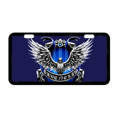 Placa de matrícula de Metal Resistente con Logotipo de Ravenclaw de Hogwarts School