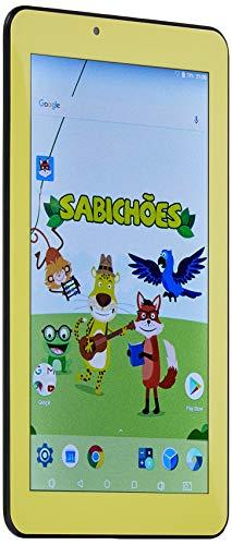 Tablet Sabichões com Capa de Sapo, DL TX386, 8GB, 7.0', Branco