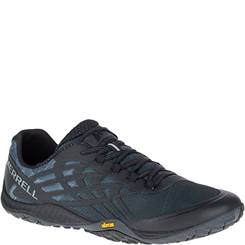 Merrell Men's Trail Glove 4 Runner, Black, 7 M US