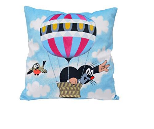 MU BRNO - mollenkussen vliegende ballon, 30x30cm