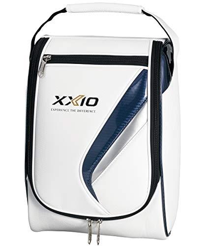 DUNLOP(ダンロップ) シューズケース XXIO ゼクシオ シューズケース GGA-X109 ホワイト×ネイビー