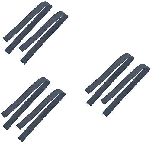 Pilika Correas para Hover Board Go Kart Cinta de Nylon de Repuesto Tipo estándar Especial para 10&8 Pulgadas y Off-Road Auto Equilibrio Scooter Tamaño: L (6 Correas)