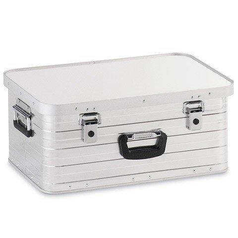 Enders Alubox 47 Liter, hochwertig verarbeitet, mit Moosgummidichtung, Alukiste flexibel verwendbar als Transportbox und Lagerbox - Alukoffer Lagerkisten Metallkiste Metallbox Aluboxen Alukisten