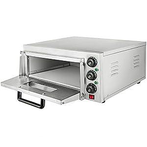 Taltintoo20, 2000 Watt Pizza Electric Oven Single Deck Restaurant Countertop Commercial, Size 22.2 x 20.6 x 11.5 inch…