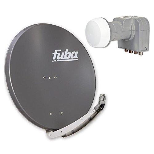 Fuba DAA 850 A + Fuba DEK 416 Quad-LNB Außeneinheit für vier Teilnehmer, 1 Satellit