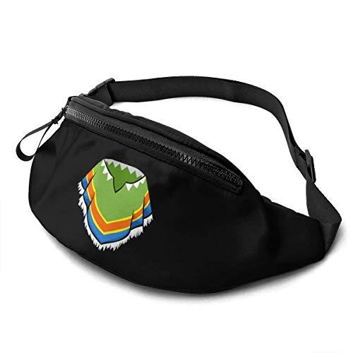 HOIH Mexikanische Poncho Logo Unisex Taillentasche Verstellbarer Riemen Tragbare Sportkiste