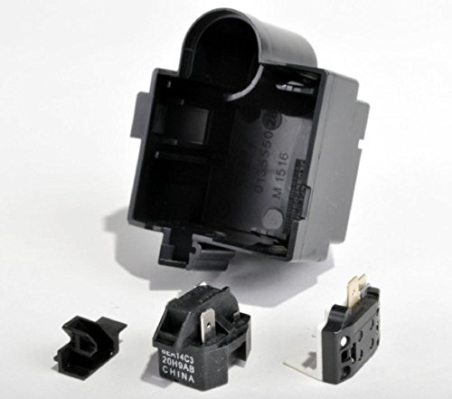 Whirlpool W4387835 Refrigerator Compressor Overload Protector Genuine Original Equipment Manufacturer (OEM) Part