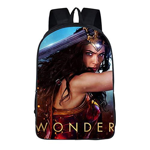 ULIIM Mochilas Escolares De Moda Niños Wonder Woman