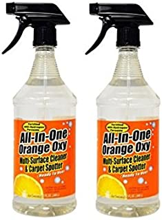 Maintex All-in-1 Orange Oxy Multi-Surface Cleaner 32 oz trigger, 2 pack bundle