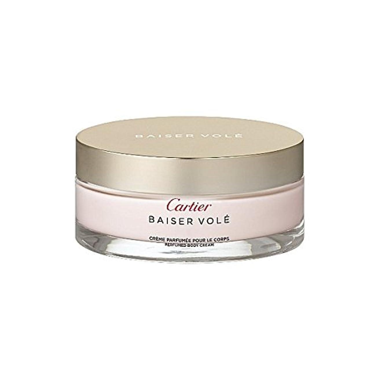 ノート賛美歌驚きCartier Baiser Vol? Perfumed Body Cream 200ml (Pack of 6) - カルティエのハタネズミ香りのボディクリーム200ミリリットル x6 [並行輸入品]