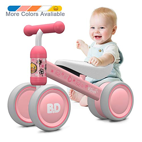 Baby Balance Bike 10-24 Month Children Walker   Toys for 1 Year Old Boys Girls   No Pedal Infant 4...