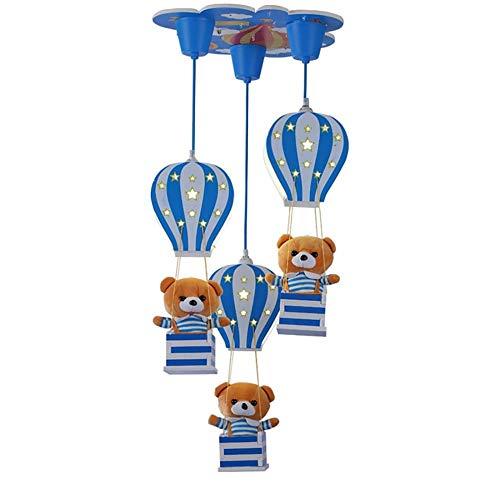 Interieur kroonluchter, plafondverlichting, speelkamer, slaapkamer, LED-lampen, kleuterschool, kroonluchter voor cartoon-tekeningen voor kinderen, 46 x 80 cm