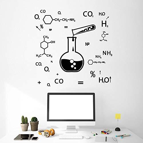 Yaonuli behang Formula Chemie klasse van de wetenschap, laboratorium, decoratie van vinyl
