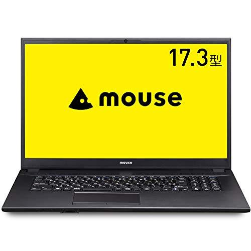 マウスコンピューター mouseノートパソコン 17.3型フルHD(Corei3 1005G1/8GB/256GB/1TB/Win10)MB-UG381SHZM