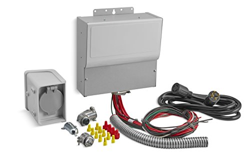 Kohler 37 755 07-S 10-Circuit Manual Transfer Switch Kit for Portable Generators