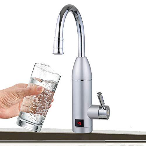 Wasserhahn Küche Waschbecken Elektrische Küchenarmatur YUNRUX 220V Küchenarmatur Heiß Armatur Durchlauferhitzer 3KW Wasserhahn Einhebel Mischbatterie Waschtisch Armatur Einhandmischer Bad Faucet