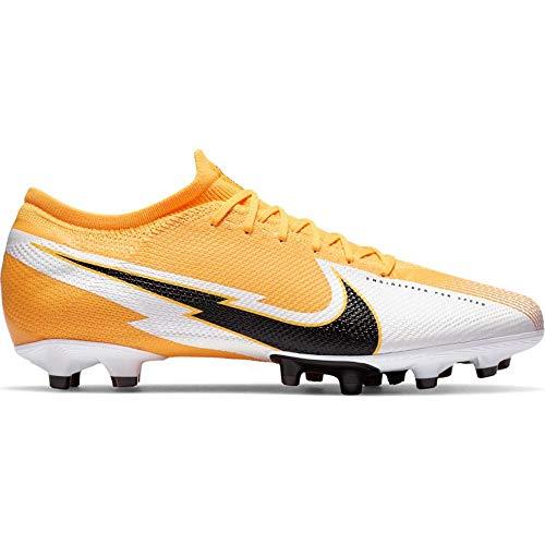 Nike Herren Mercurial Vapor 13 Pro AG Fußballschuh orange-weiß-schwarz 46
