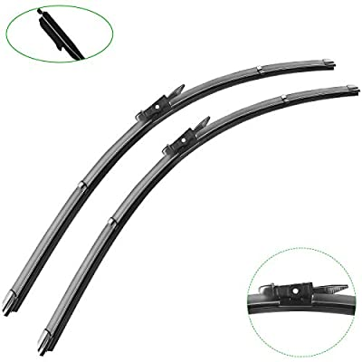 """2 wipers Replacement for 2008-2012 Ford Escape, Windshield Wiper Blades Original Equipment Replacement - 20""""/20"""" (Set of 2)"""