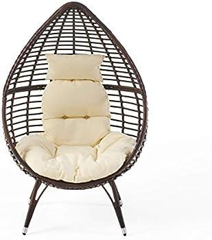 Christopher Knight Home Cutter Teardrop Wicker Lounge Chair