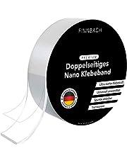 Premium Nano Tape [3 Mtr] Dubbelzijdig plakband | Nanotape dubbelzijdig extra sterk transparant | lijm zonder sporen verwijderbaar en herbruikbaar | wasbaar en antislip