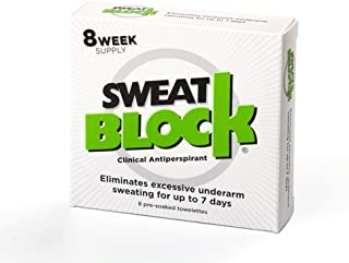 SweatBlock スウェットブロック最大7日間制汗脇の汗を抑えます 並行輸入品