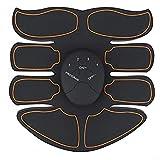 SJCC Estimulador Muscular Abdominales, ABS Masajeador Eléctrico con USB, EMS Muscular Eléctrico Cinturón Abdomen/Brazo/Piernas/Glúteos1