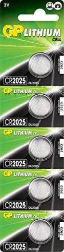 CR2025 Pile Bouton Lithium 3V
