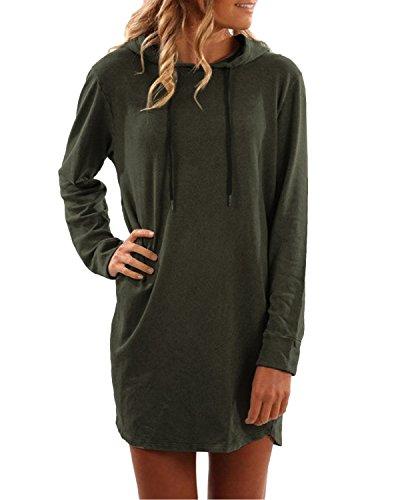 SUNNYME Damen Hoodies Pullover Langarm Jacke Top Sweatshirt Laple Knopf Jumper...