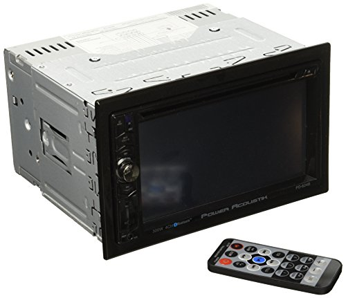 Power Acoustik PD-624B 2-DIN Source Unit with Bluetooth/6.2' LCD