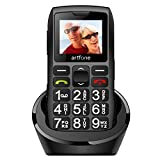 artfone Big Button Mobile Phone for Elderly,Upgraded GSM Mobile Phone With SOS Button