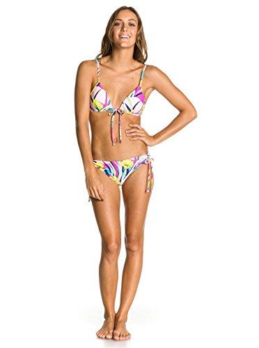 Roxy Damen Bikini Boost Tie Bra 70s Lowrider Side, Light Jade, S