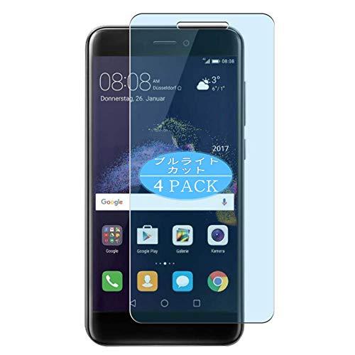 VacFun 4 Piezas Filtro Luz Azul Protector de Pantalla Compatible con Huawei P8 Lite 2017/P9 Lite 2017/NOVA Lite/GR3 2017/Honor 8 Lite, Screen Protector(Not Cristal Templado) New Version