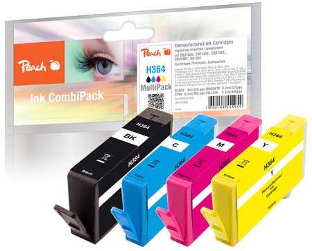 Peach Spar Pack Tintenpatronen kompatibel zu HP No. 364, SD534EE