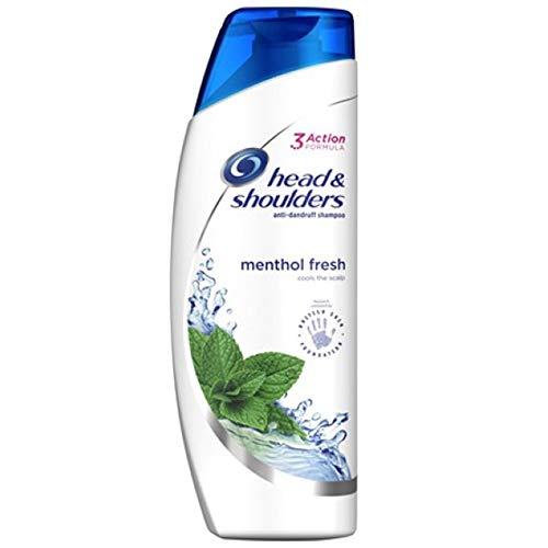 Head & Shoulders Anti Dandruff Shampoo COOL MENTHOL Refreshment For All Hair Types 13.5 Oz. (2 Pack) mtc