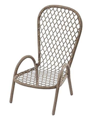 HBF - Mini Chaise Jardin Chocolat