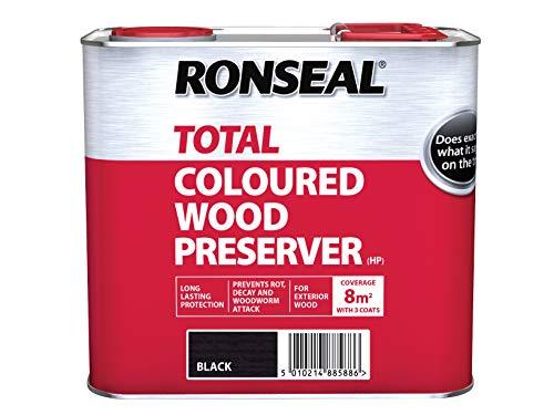 RONSEAL RSLTTWPBL25L Trade Total Wood Preserver Black 2.5 litre Holzschutzmittel