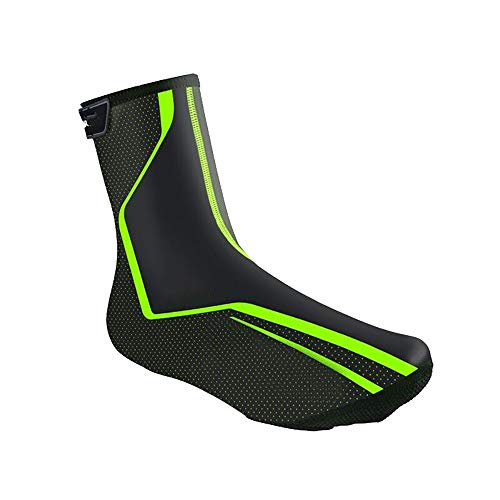 HHHKKK Bicicleta de Ciclismo Cubrebotas Cubrezapatos de Bicicleta, Impermeables Resistente al Viento Resistente a la Intemperie Cubre Protección Reflectante Montaña Protector Zapatillas