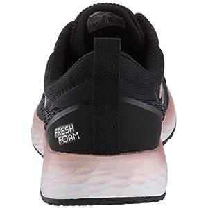 New Balance Women's Fresh Foam Arishi V3 Running Shoe, Black/Peach Soda Metallic, 8.5 M US
