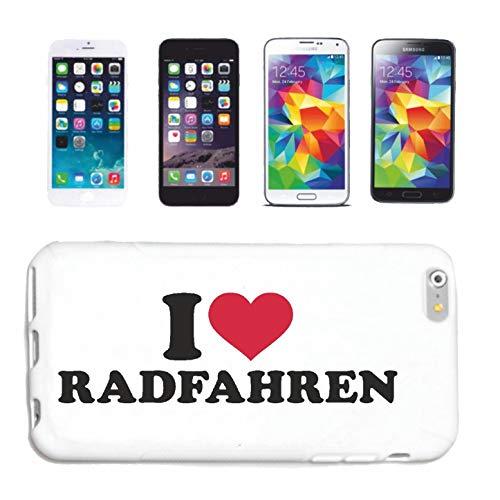 Hoes voor mobiele telefoon compatibel met HTC M8 I Love Fietsen Fietsen Mountainbike Racing Fiets Tour Hardcase Beschermhoes Telefoonhoes Smart Cover