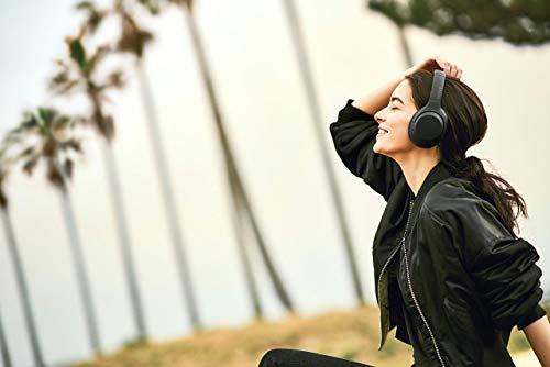 Sony WH-XB900N Extra Bass kabellose Geräuschunterdrückung Kopfhörer bis zu 30 Stunden Akkulaufzeit, Freisprechfunktion, Amazon Alexa (Generalüberholt)