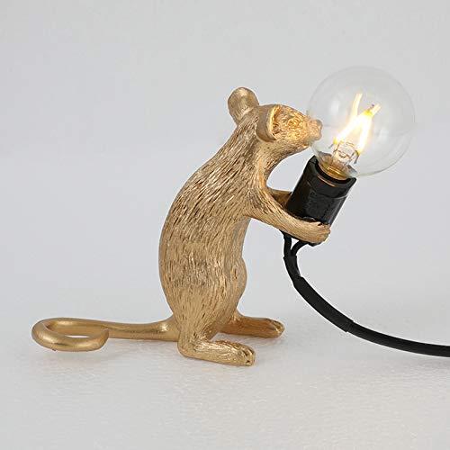 Watkings Tischlampe, Leselicht, Nachttischlampe, Maus Form Harz Schreibtisch Licht Nacht Pulg Lampe Licht Home Room Decor