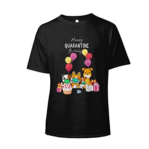 Happy Quarantined Birthday Gift Idea 2020 Cóvid-19 Córonavirus Chinese Flu Slim Fit T-Shirt