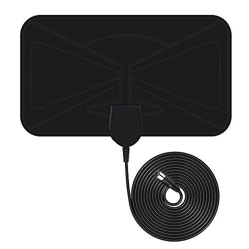 [Nueva versión 2019]Antena TV Interior VicTsing,TV portátil HDTV Digital,40KM Gama de Recepción,Ultra...