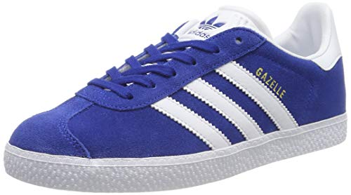 adidas Gazelle J, Scarpe da Ginnastica Basse Unisex-Adulto, Blu (Blue Cq2875), 38 EU